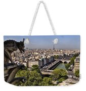Gorgyle View Of Paris Weekender Tote Bag