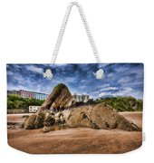 Goscar Rock Tenby 4 Painted Weekender Tote Bag