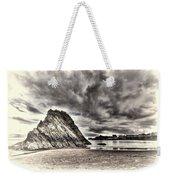 Goscar Rock Tenby Cream Weekender Tote Bag