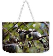 Gossip Birds Weekender Tote Bag