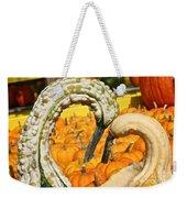 Gourd Heart Weekender Tote Bag