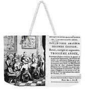 Gourmands Almanac, 1806 Weekender Tote Bag
