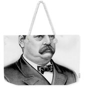 Governor Grover Cleveland - Twenty Second President Of The Usa Weekender Tote Bag by International  Images