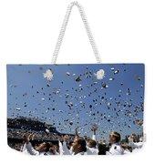 Graduates Of The U.s. Naval Academy Weekender Tote Bag