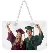 Graduation Couple V Weekender Tote Bag