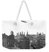 Graf Zeppelin Over Chicago Weekender Tote Bag
