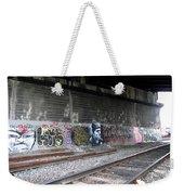 Graffiti - Under Over Railyard Weekender Tote Bag