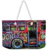 Graffiti Bus Weekender Tote Bag