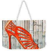 Graffiti Orange Cage Stilettos Weekender Tote Bag