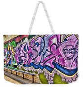 Graffitti-lets Gambl Make Dollars Weekender Tote Bag