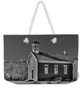 Grafton Schoolhouse - Bw Weekender Tote Bag