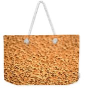 grain crop ripening in Saskatchewan Weekender Tote Bag