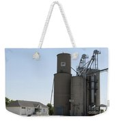 Grain Processing Facility In Shirley Illinois 3 Weekender Tote Bag