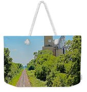 Grain Processing Facility In Shirley Illinois 4 Weekender Tote Bag