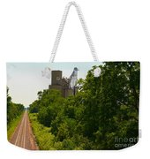 Grain Processing Facility In Shirley Illinois 5 Weekender Tote Bag