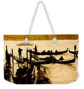 Grand Canal At Sunset - Venice Weekender Tote Bag