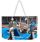Grand Canal Gondolas Painting Weekender Tote Bag