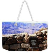 Grand Canyon 35 Weekender Tote Bag