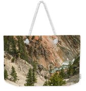 Grand Canyon And Yellowstone River Weekender Tote Bag