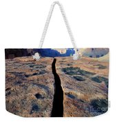 Grand Canyon Dividing Line Weekender Tote Bag