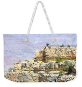 Grand Canyon Overlook Weekender Tote Bag