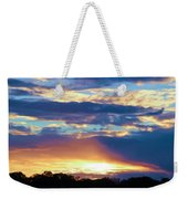 Grand Canyon Sky Over Treetops Weekender Tote Bag