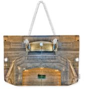 Grand Central Terminal East Balcony I Weekender Tote Bag