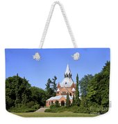 Grand Chapel In Central Cemetery Szczecin Poland Weekender Tote Bag