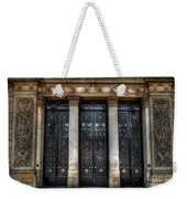 Grand Door - Leeds Town Hall Weekender Tote Bag