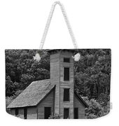 Grand Island Lighthouse Bw Weekender Tote Bag