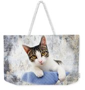 Grand Kitty Cuteness 2 Weekender Tote Bag by Andee Design