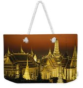 Grand Palace And Temple Of The Emerald Weekender Tote Bag
