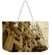 Grand Place Perspective Weekender Tote Bag