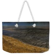Grand Prismatic Spring Runoff Weekender Tote Bag