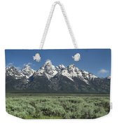 Grand Teton Spring Weekender Tote Bag