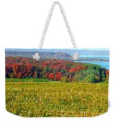 Grand Traverse Winery In Autumn Weekender Tote Bag
