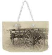 Grandfather's Sunday Drive Weekender Tote Bag