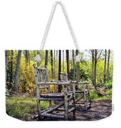 Grandmas Country Chairs Weekender Tote Bag by Athena Mckinzie