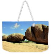 Granite Boulders 2  Weekender Tote Bag