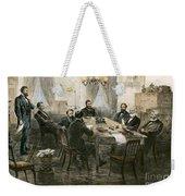 Grants Cabinet, 1869 Weekender Tote Bag