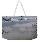 Grants Pass In The Fog Weekender Tote Bag