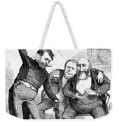 Grant/tweed Cartoon, 1872 Weekender Tote Bag