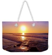 Grape Sea Weekender Tote Bag