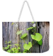 Grape Vines On An Old Barn Weekender Tote Bag