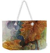 Grapes Iv Weekender Tote Bag by Judy Dodds