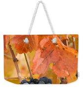 Grapes On The Vine - Vertical Weekender Tote Bag