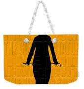 Graphic Chaplin Weekender Tote Bag