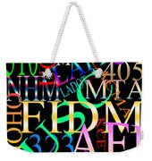 Graphic Los Angeles 1 Weekender Tote Bag