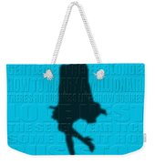 Graphic Marilyn Monroe Weekender Tote Bag