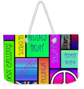 Graphic Sixties London Weekender Tote Bag